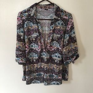 COLORFUL BLOUSE-SHIRT